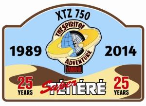 25th sticker 300x218 Super Tenere 25th Birthday Meet 2014